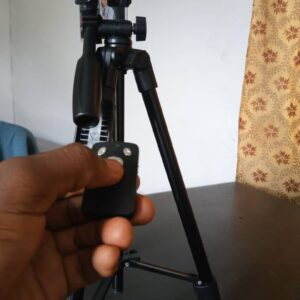 Bluetooth Camera Tripod for Distant Photography and Videography